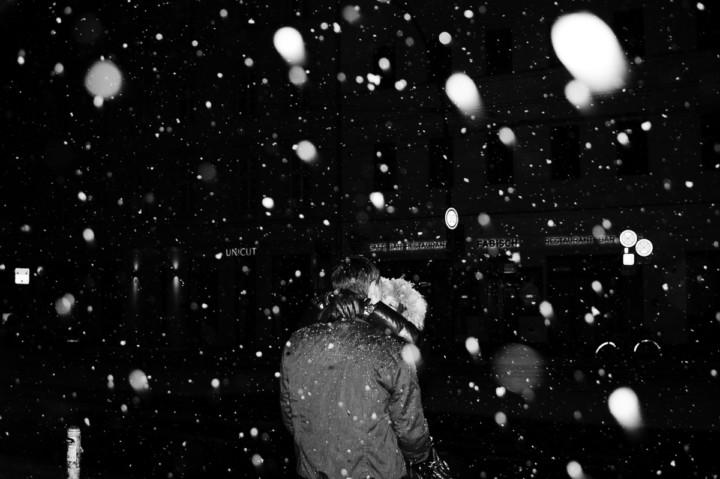 so viel Schnee, again
